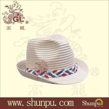 2014 wholesalefashion fedora paper hat