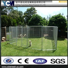 Temporary dog rubbish cage fence stays