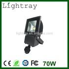 outdoor LED Flood Light Sensor 70W PIR motion sensor CE ROHS SAA Certificate