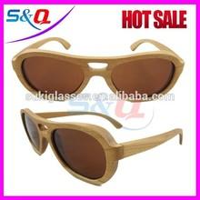 Polarized bamboo sunglasses acetate