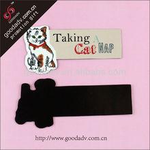 OEM Factory Cheap custom Pet ads Print fridge magnet Paper Fridge Magnet for promotion