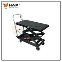 800LBS capacity light weight lift table trolley