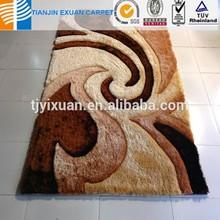3d shaggy carpet designs manufacturer