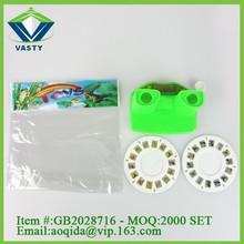 Modern toys for children plastic cartoon view master