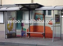 modern popular outdoor bus stop manufacturer