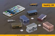 Best VV VW box mod Kamry 20w/ 100w/ 200w box mods e-cigs from Kamrytech