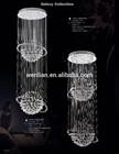 modern large crystal ball chandelier lighting for hotel