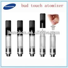 Free shipping wholesale bud vape disposable 0.3ml/0.6ml/1.0ml 510 bud touch cartomizer