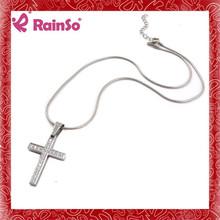 Rhinestone arm bracelet silver pendant necklace present