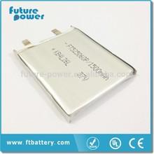 li-ion batteries 3.7v 4.2v storage battery 1500mah