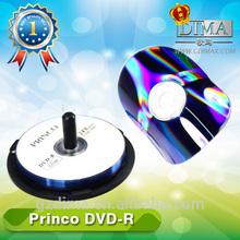 china wholesale blank dvd 4.7gb with princo logo