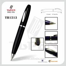 Thick black metal ball pen TB1213