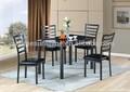 Reciclado de madeira mesas de jantar/4 seaters mesas de jantar