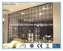 Hot!!! 2014 decorative wall dividers/ steel panel screens