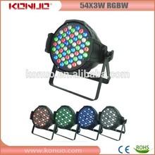 Konuo LED-5403D constant current drive pcb 54x3W RGBW LED par 64