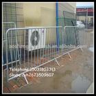 Portable Event Temporary Barrier Fence / Tubular Road Bar Barrier/ Site Steel Crowd Barricade