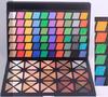 2014 hot sale 120 fashion colors rhombus high pigment eyeshadow