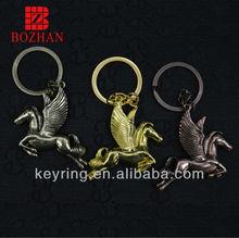 2014 new product fashionable 3d keychain metal/custom 3d keychain