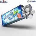 garrafa de aço lata comprimido balas de hortelã da respiração respiração balas de marcas