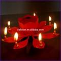 bastante sparkler romántico vela de cumpleaños de fuegos artificiales