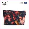 elegante 2015 patrones de flores de bolsas y kits de cosméticos