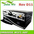 Clone numérique récepteur de tv satellite dm800se wifi, a8p sunray& dreambox 800 hd soi a8p wifi carte sim
