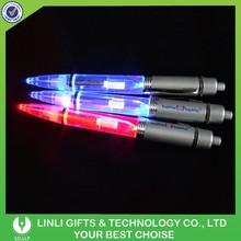 Hot Sales OEM Logo Light Up Pen, Promotional Led Pen, Glowing Pen