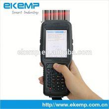 Ruggedized 3G 3.5 inch 4000mAh battery IP65 Industrial Handheld terminal PDA with WIFI Bluetooth, GPS X6