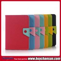 Leather flip case for iPad Mini,Stand korea leather case for iPad mini