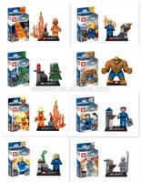 SY figures blocks fantastic four small building blocks 8 models mix