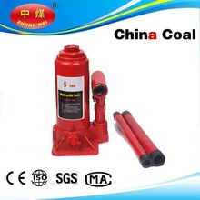 2014 Heavy duty Hydraulic bottle jacks 5ton for lifting trucks and cars,car jack