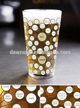 The very many varieties of beer pint glass,pint glassware