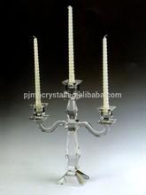 hot sale cheap crystal 3 arm candelabra MH-1606