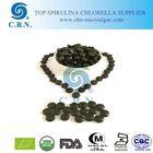 Organic spirulina available 200mg, 250mg, 300mg, 400mg, 500mg Spirulina tablet