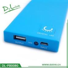 5000 mAh External Battery mega power bank for mobile