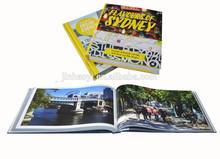 China photography book printing service photo album printer photo book