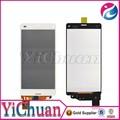 marca nuevo móvil de piezas para sony z3 módulo de pantalla táctil con frente de vidrio