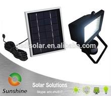 Sunshine SS 03-02PIR Hot Selling Motion Solar Light Kit, Solar Flood Light,Solar Security Garage Light