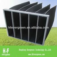 Active Carbon Fibre Bag Air Filter For Plastic Odor Remove