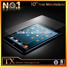 china Wholesaler anti-fingerprint HD tempered glass screen protector for ipad 2 for ipad 3 for ipad 4