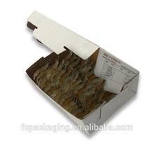 Frozen Seafood Packaging Box Prawn Waxed Storage Shipping Box