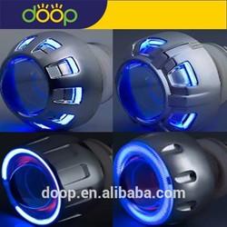 Hot Sale Motorcycle HID Projector Headlights, Motorcycle HID Projector Lens With Angel Eyes