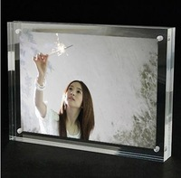 double sided acrylic picture frame