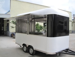 Whole price hot dog concession van/ hot dog mobile YY-FS400R for sale