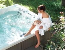 Combo Massage (air & Whirlpool) Massage type and reversible drain location of 5.8 meter swim spa(BG-8820)