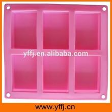 Small MOQ rectangle shape soap mold silicone