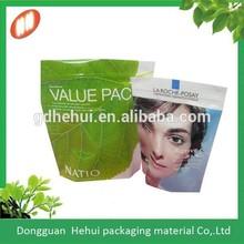 custom graphic printing plasitc cosmetic bag from China