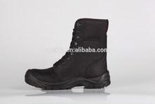 nero in tessuto oxford scarpe di sicurezza di avvio