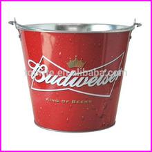 Galvanized Tin Ice Bucket 5L