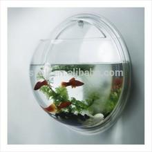 Promotional wall mounted acrylic fish aquariums